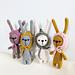 Teeny weeny bunny pattern