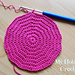 Invisible seam when increasing half double crochet in the round- How to! pattern