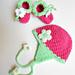 Blooming Berry Earflap Hat pattern