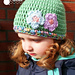 Touch of Spring Hat pattern