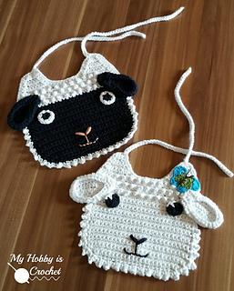 Little Man Bib and Bootie Crochet Pattern