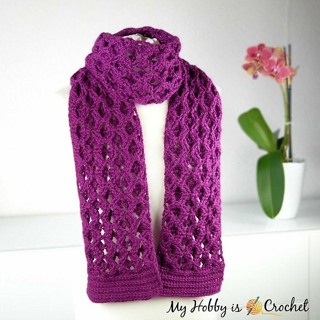 Elephant Pattern Knit Reversible Infinity Scarf