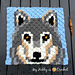 Grey Wolf C2C Square pattern