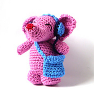 Crochet Tutorial Pink Elephant - YouTube | 316x320