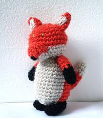 Ravelry: Lisa the Fox - Amigurumi pattern by Sanda J. Dobrosavljev | 240x211