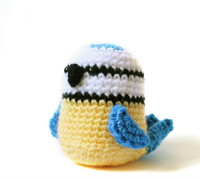 6 Crochet Bird Amigurumi Patterns Designed By Tanya Zhylyayeva ... | 575x640