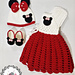Mickey Mouse Baby Romper pattern
