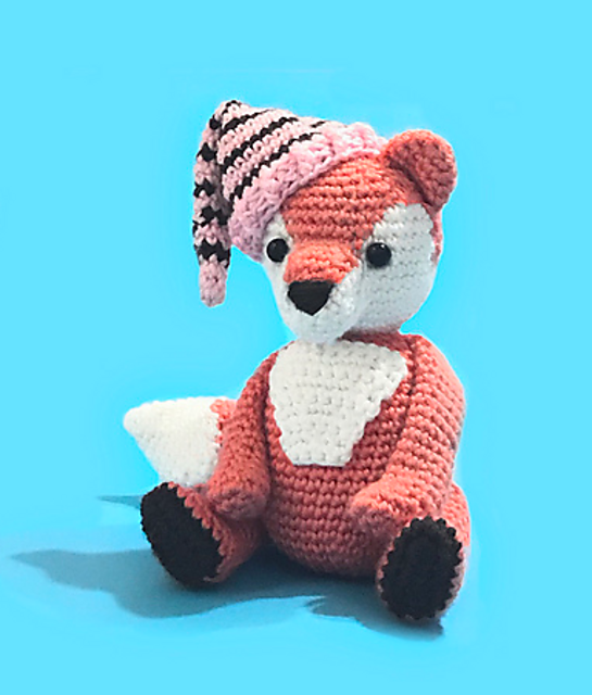 Crochet pattern fox crochet pattern amigurumi fox crochet   Etsy   640x545