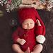 Newborn Santa Claus Outfit pattern