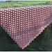Bobble Stitch Blanket pattern