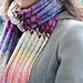 Sunset Shades Scarf pattern