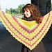 Meander Shawl pattern