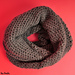 Tunisian Full Stitch Infinity Scarf pattern