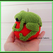 Christmas Critter Green Tree Frog pattern