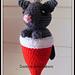 Christmas Critter Possum pattern