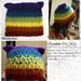 Striped Cat Hat pattern