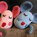 Cuddly Mice pattern