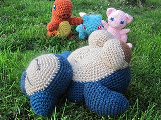 Snorlax Pokemon Crochet Nursery décor Pokemon amigurumi   Etsy   240x320
