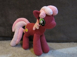 Awesome My Little Pony Free Crochet Patterns | 240x320