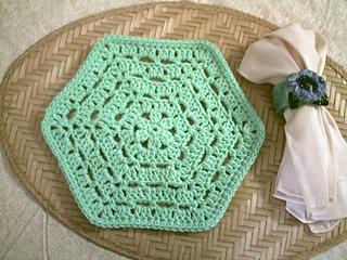 Hexagon Washcloth