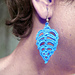Triangle Dangle Earrings pattern