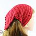 Summer Picot Head Kerchief pattern