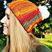 Sunset Striped Hat pattern