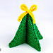 Small Foldable Christmas Tree pattern