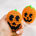 Pumpkin Stress Ball pattern