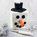 Snowman Head Tissue Box Cover pattern