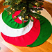 Spiral Christmas Tree Skirt pattern