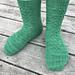 Pilea Glauca Socks pattern