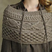 Light Brown Cowl pattern