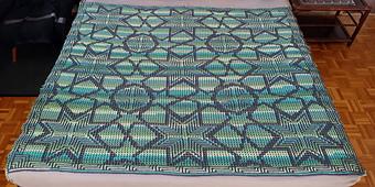 Crocheted by Nina Mayer, mosaic technique
