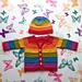 Equality Stripe Cardigan pattern