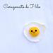 Little Fried Egg Amigurumi pattern