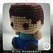Amigurumi Minecraft Steve pattern