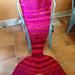 KID SIZE Jean Lafitte's Mermaid Lap Blanket / Sack pattern