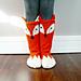 Little Foxy Socks pattern