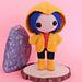 Coraline Jones Amigurumi Doll pattern