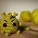 Evil coronavirus pattern