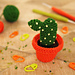 Bunny-ear cactus pattern