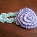 Criss Cross Newborn Baby Headband pattern