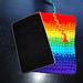 Faded Rainbow Tablet Case pattern