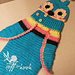 3 Button Baby Owl Cocoon & Hat pattern
