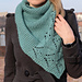 Lazy shawl pattern