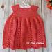 Watermelon Toddler Summer Dress pattern