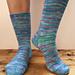 Beginner Sock Pattern - Let the Yarn Shine Socks pattern