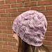 Fountainhead Hat pattern