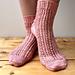 Giverny Garden Socks pattern